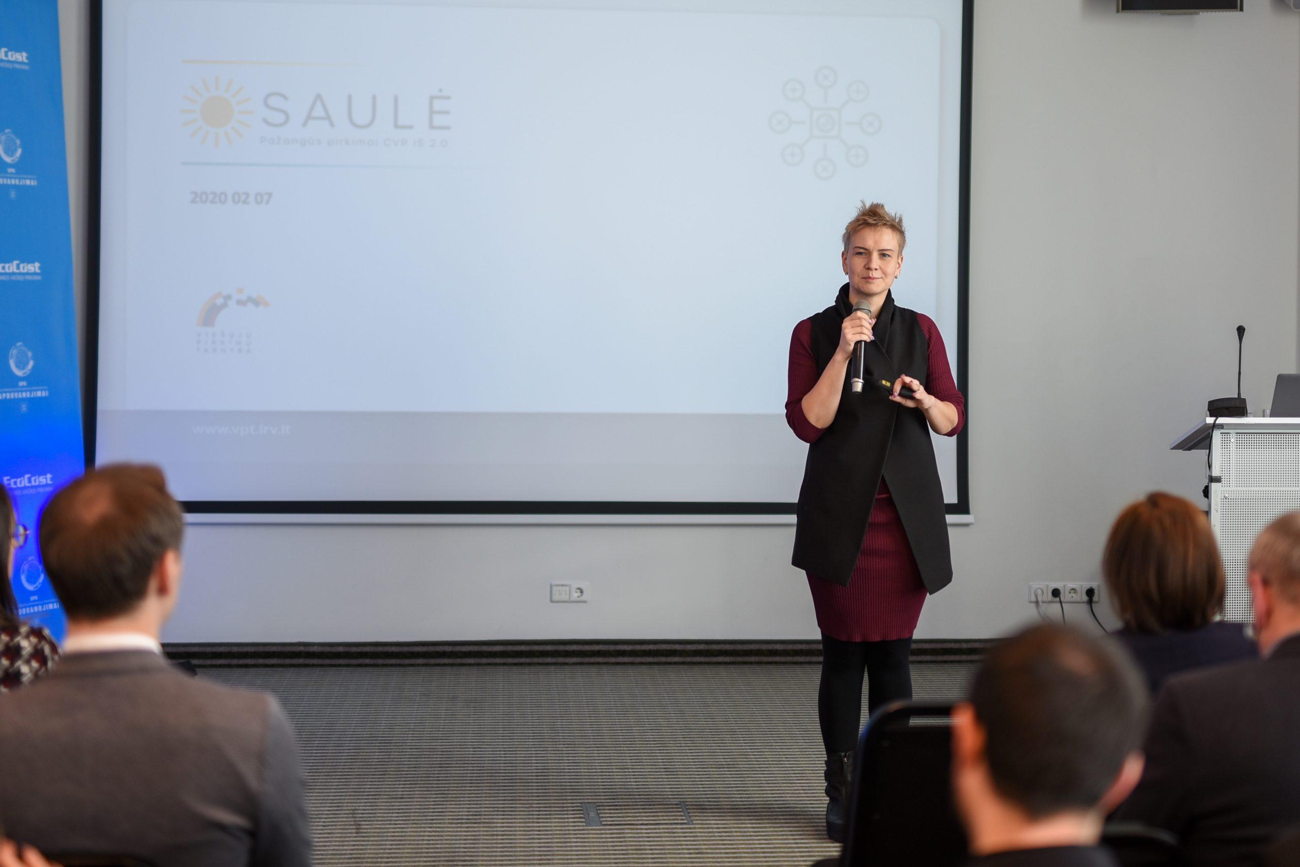 Eglė Radvilė CVP IS 2.0 SAULĖ projekto vadovė
